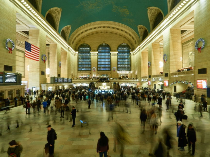 Busyness in the Central Station